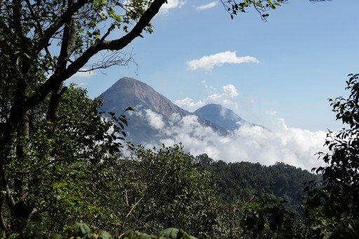 Tajumulco Volcano is Central America's highest peak