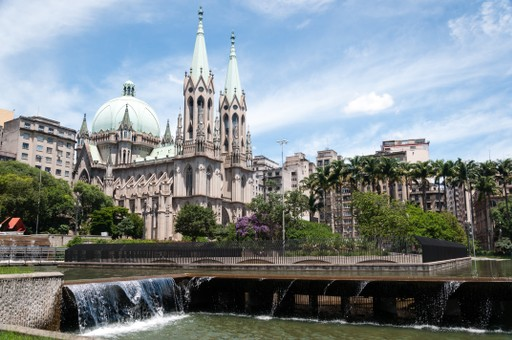 Cathedral in Sao Paulo, brazil