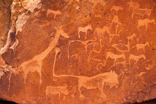 Twyfelfontein rock art namibia