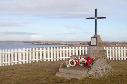 War Memorial in the Falkland Islands