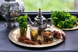 Marrakesh, mint tea