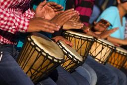 Drummers in Senegal