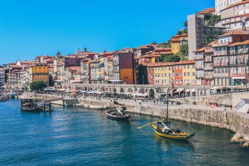 Porto harbour, Portugal