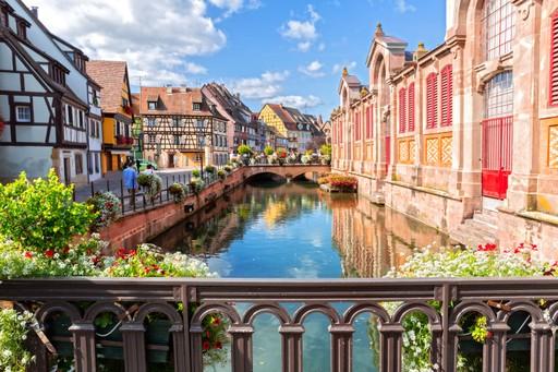 Colmar in Alsace, France