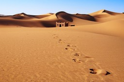 Desert building, Morocco