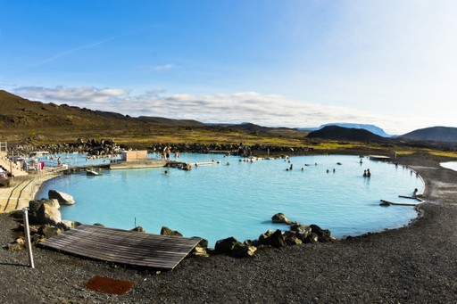 Thermal baths, Iceland