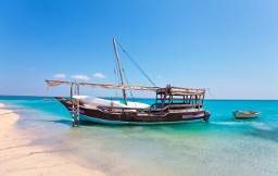Dhow boat, Ibo island