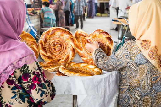 Bread carries much superstition in Uzbekistan