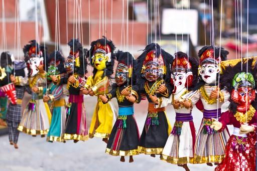 Puppets in Kathmandu