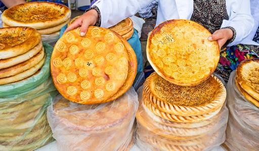 Traditional bread Uzbekistan