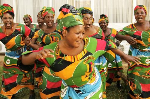 Zambia: Women Dancing
