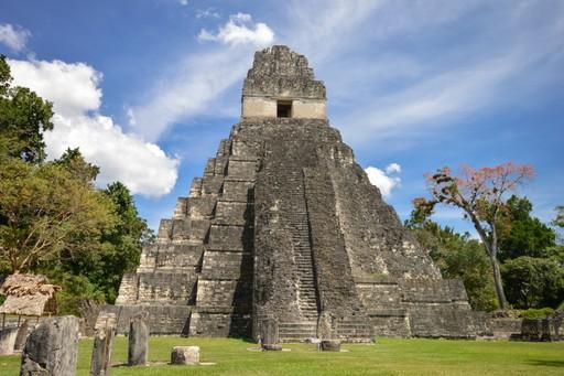 Temple of Tikal Guatemala