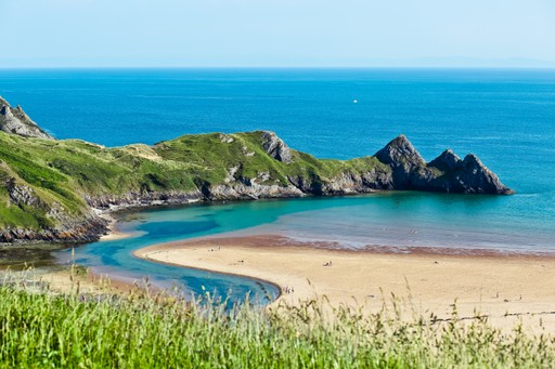 Wales holidays: the Gower beach